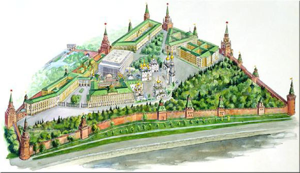 Схемы московских домов