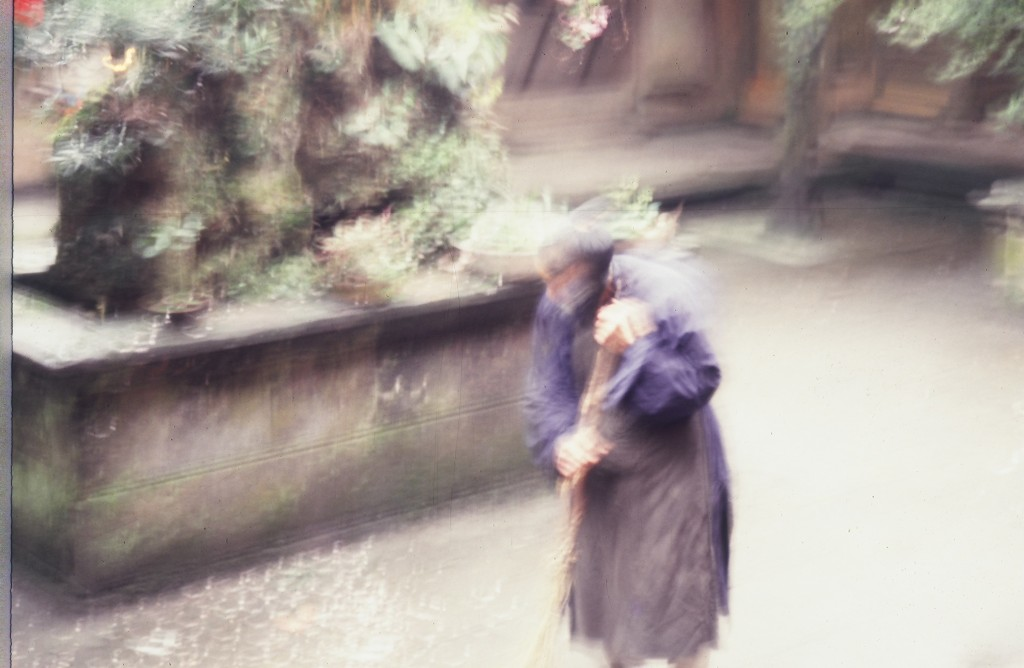 Даосский монах с Лазурной горы