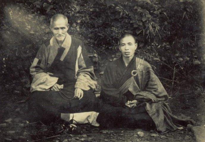 Сюй-юнь с учеником
