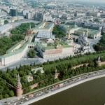 Московский Кремль — треугольник