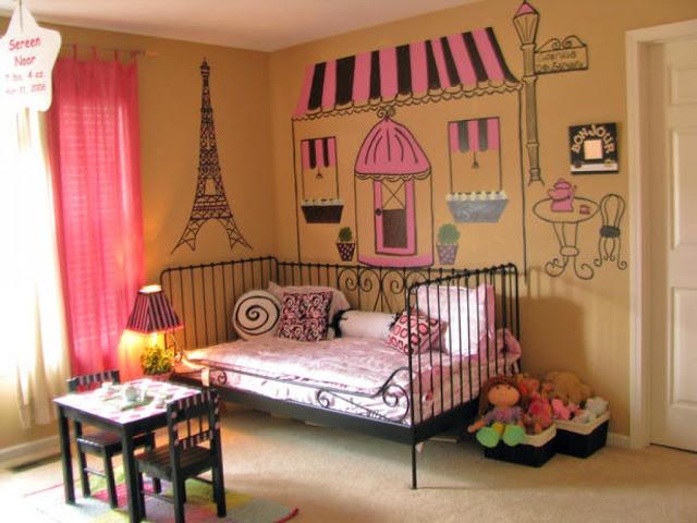 комнаты для подростков в стиле париж