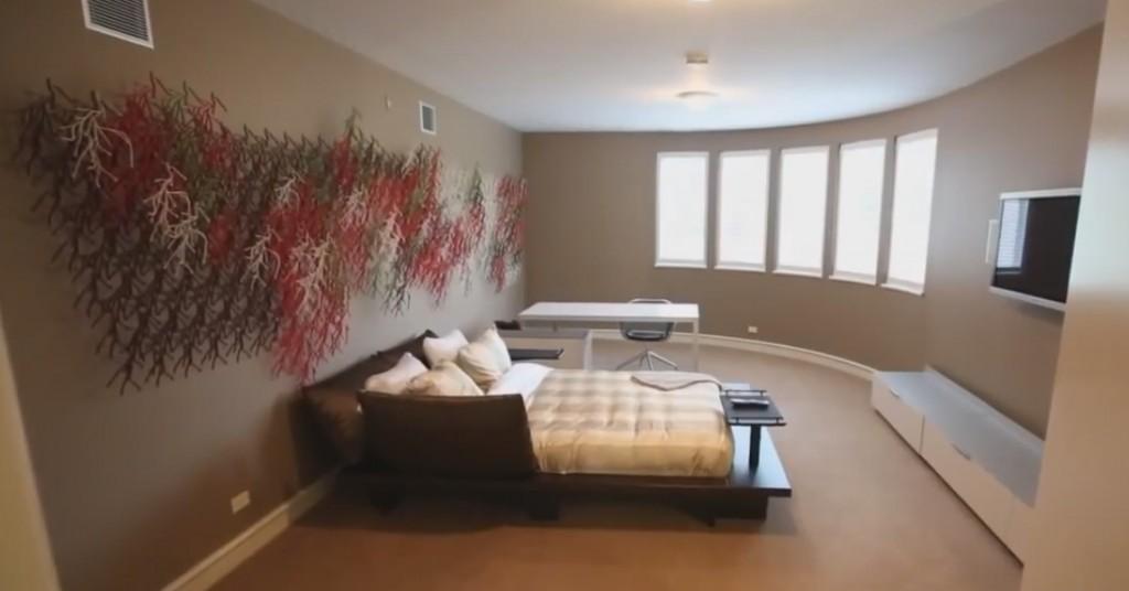 Спальня Майкла Джордана
