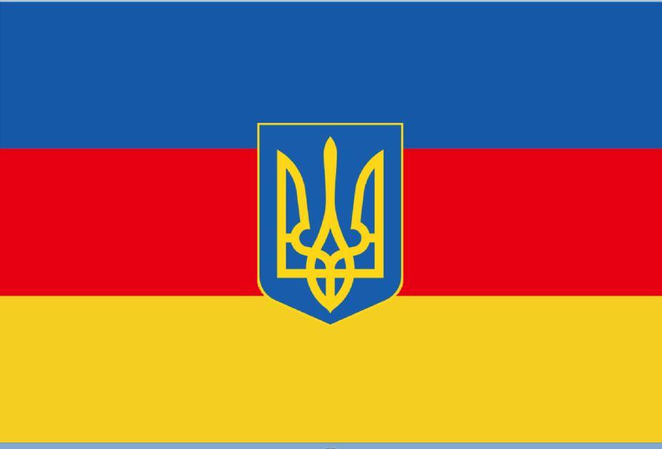версия флага Украины