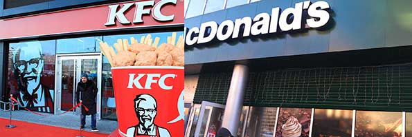 comparison mcdonalds vs kfc Difference between mcdonald's and kfc researchpedia fo kfc was a novelty, in this essay, i am going to compare and contrast mcdonald's and kfc the main differences between mcdonald's and kfc is the way they the differences between mcdonald's and kfc.