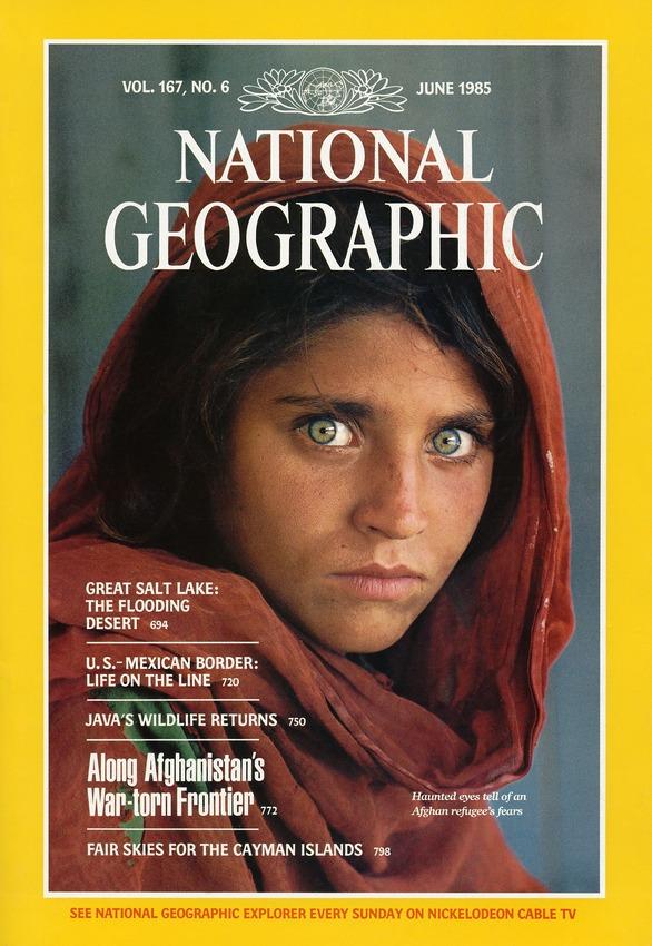 Лучшая обложка National Geographic