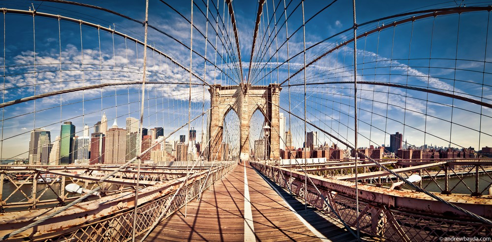 Мост в Бруклине