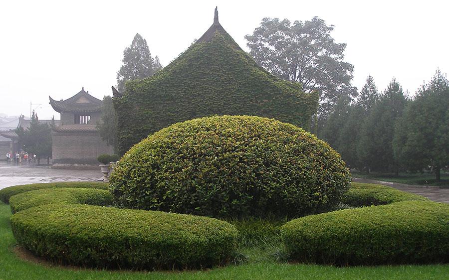 Пагода Белого гуся в Сиане