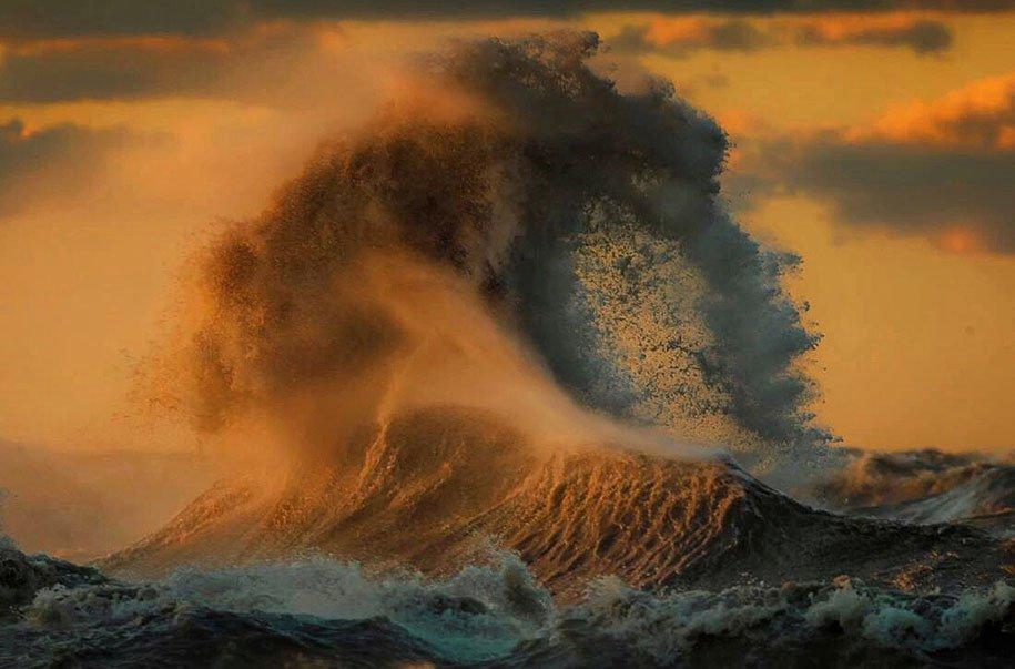 Ветер и вода. Фотограф Dave Sanford