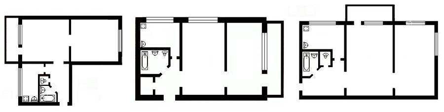двухкомнатная квартира фен шуй