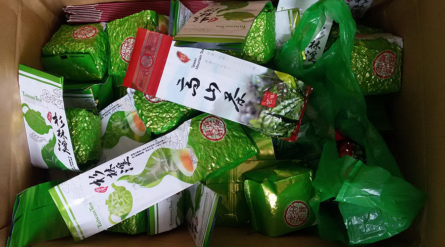 Чай улун тайваньский - Шаньлиньси и Дундин