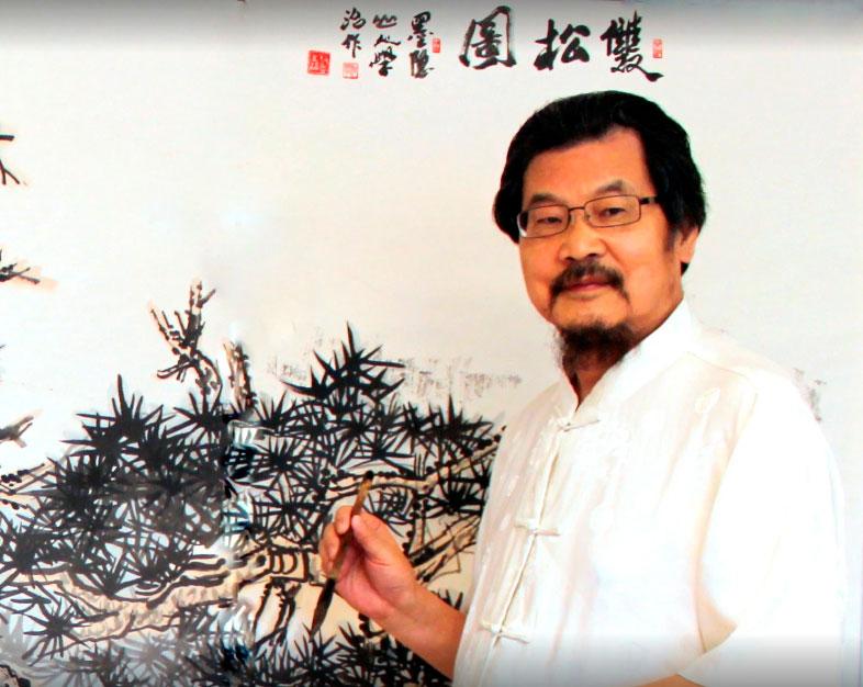 Wang Xue Zhi - Художник Ван Сюэ Чжи