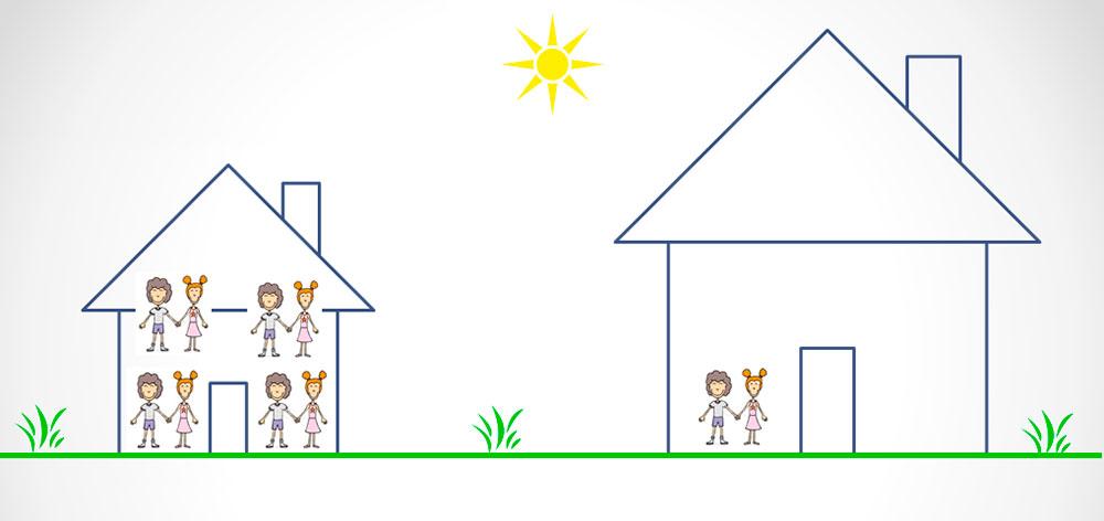Инь Ян дома жилища