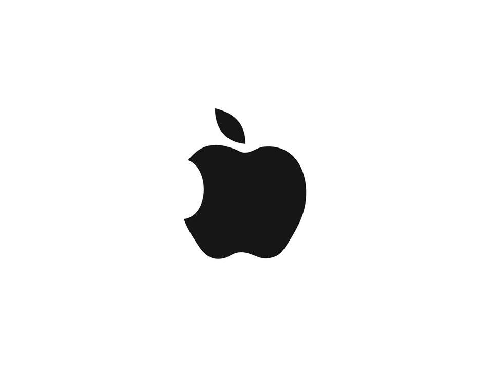 Зеркальное изображение Apple