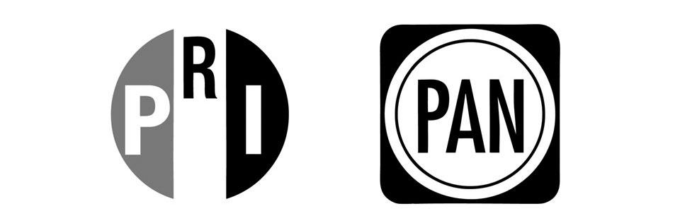 Логотипы кандидатов в президенты Мексики
